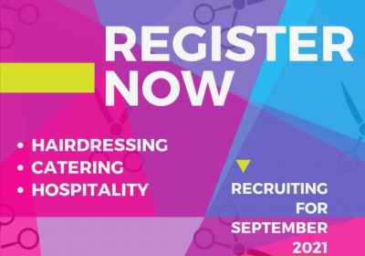 Secure your place now for September 2021